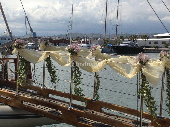 Decoraci n floral del barco de barcos eventos foto 7 - Decoracion de barcos ...