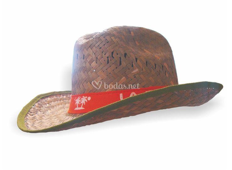 Ref. 16325. Huargo. Sombrero tejano ribete verde