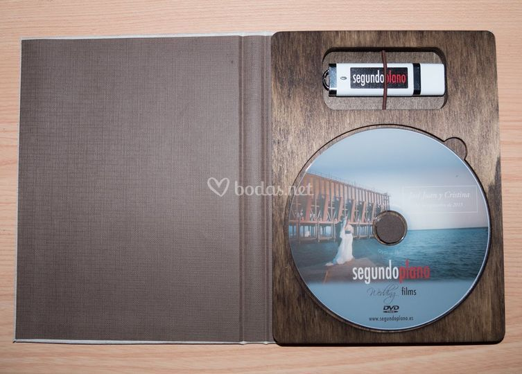 DVD y Pendrive