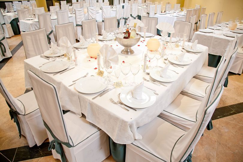 Montaje mesa boda