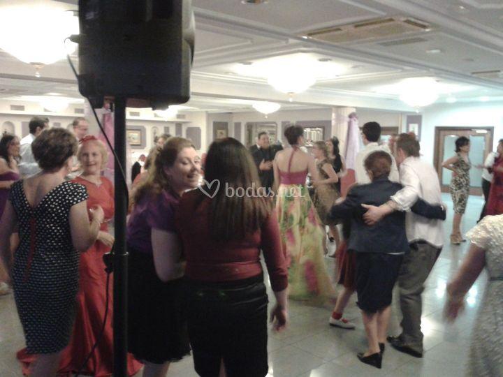Imagen durante una fiesta