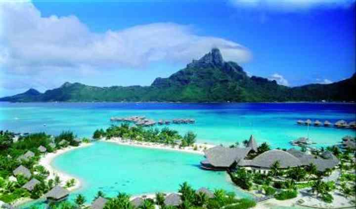 Un paraíso en la Polinesia
