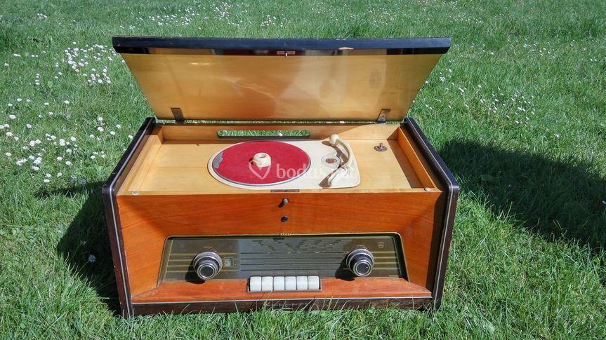 Radio tocadiscos Philips