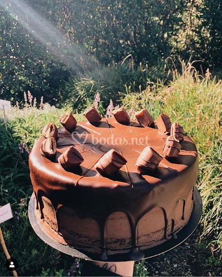 Nutella kinder cake