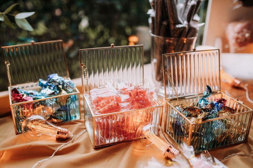 Detalle candy bar Covid