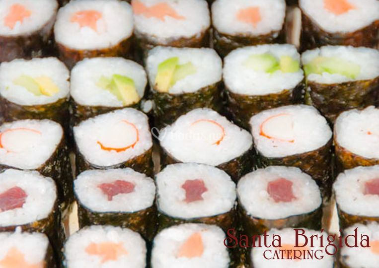 Stand sushi