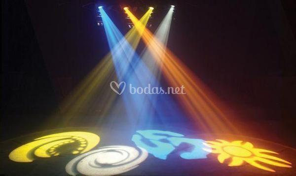 Iluminación led y laser