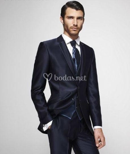 Toques distinguidos para el traje de novio