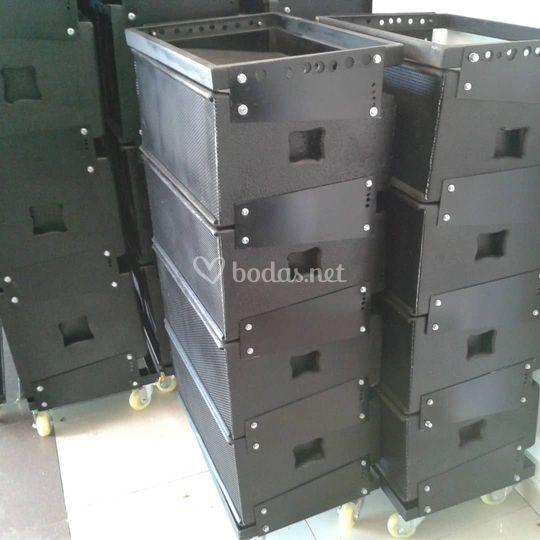 Sistemas de sonido line array