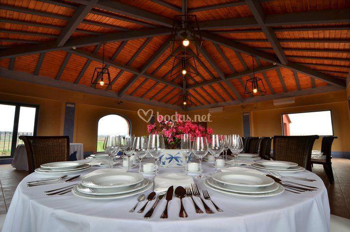 Zona para banquete