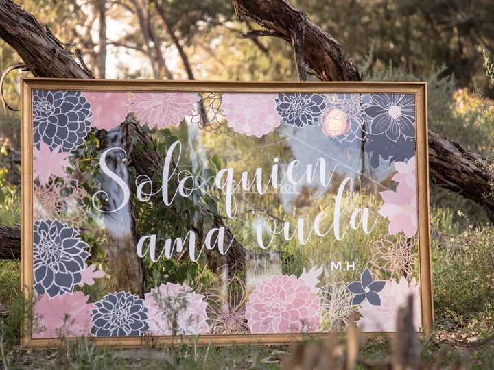 Marco decorativo floral