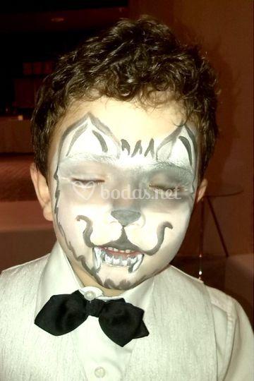 Maquillaje Lobo