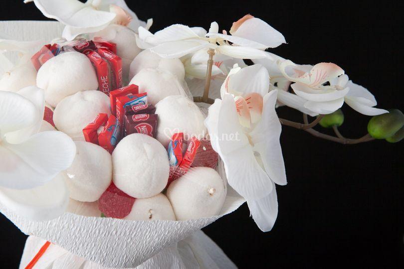 Detalle chuches+choco+flor art