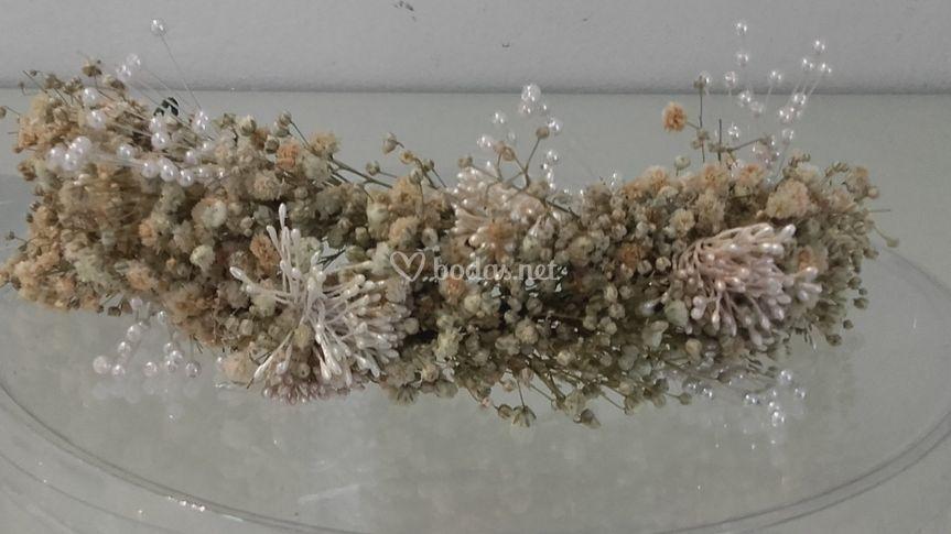 Diadem flor preservada pistilo