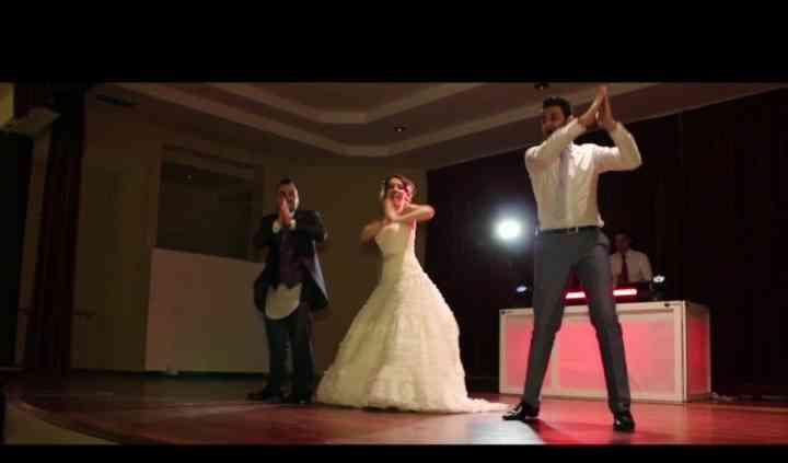 Baile con los novios