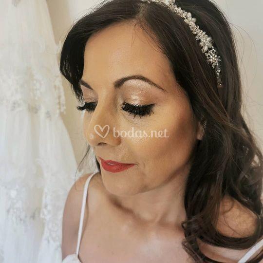Maquillaje novia 2019