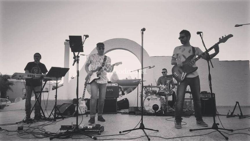 Actuación al aire libre