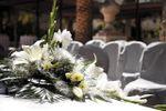 Centro flor ceremonia civil de Mas�a Siglo XIX