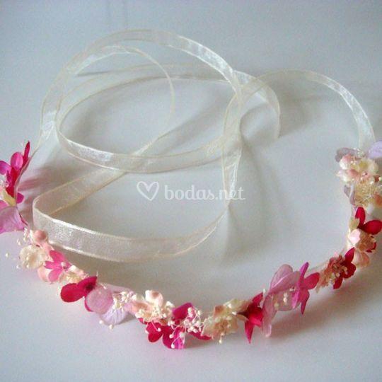 Cinta hippie rosa