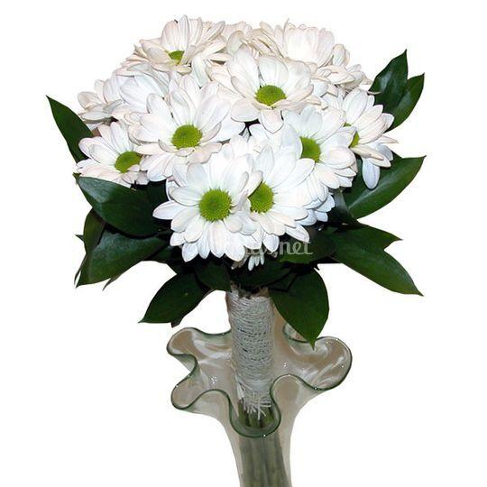 Bouquet de novia margaritas