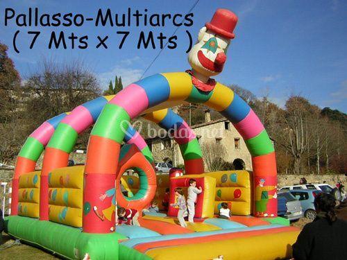 Payaso Multiarcos