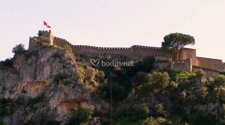Vistas del Castillo de Xàtiva