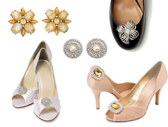 Clips broches zapatos