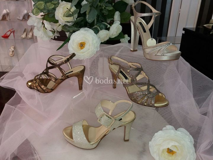 Sandalias de novia y de fiesta