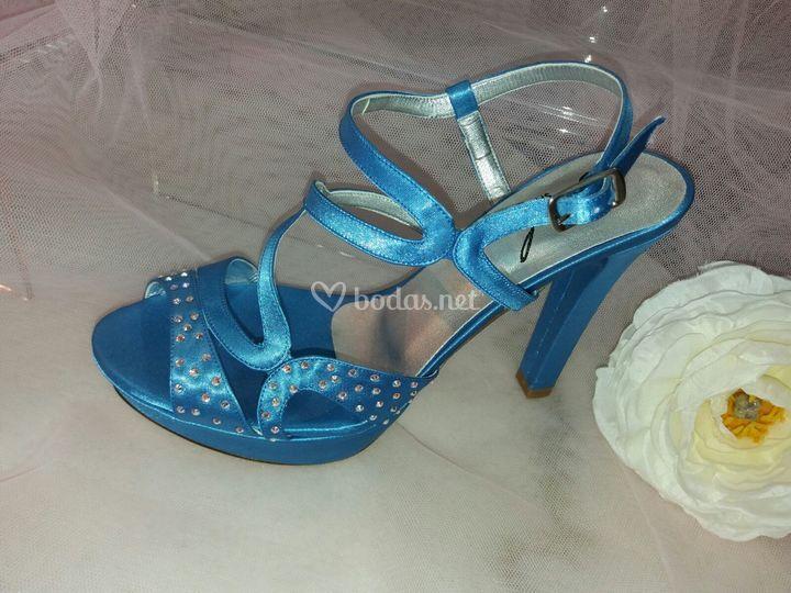 Sandalia joel azul
