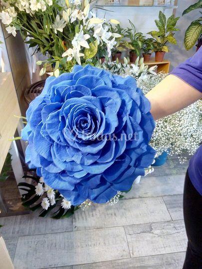 Rosmelia  Azul añil