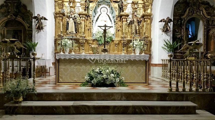 Boda iglesia el Carmen