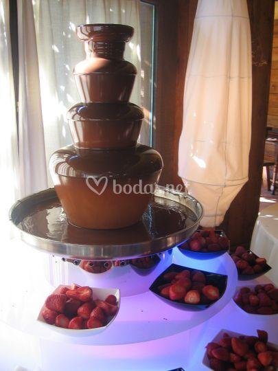 Donosti Fondue-Fuentes de Chocolate.
