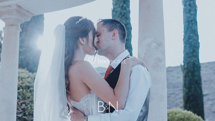 Fragmento del vídeo de boda