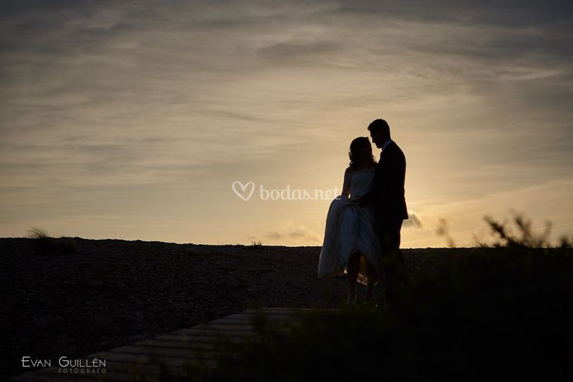 Fotos de boda Calblanque