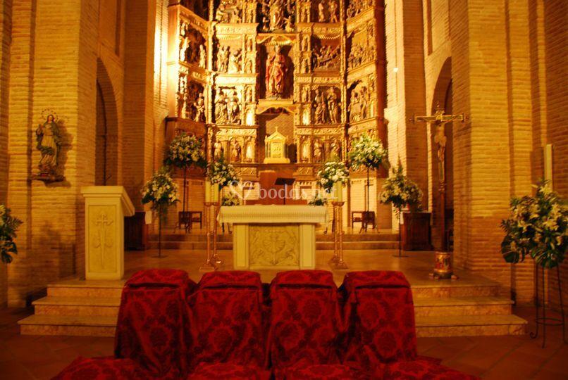 Ornamentación del altar