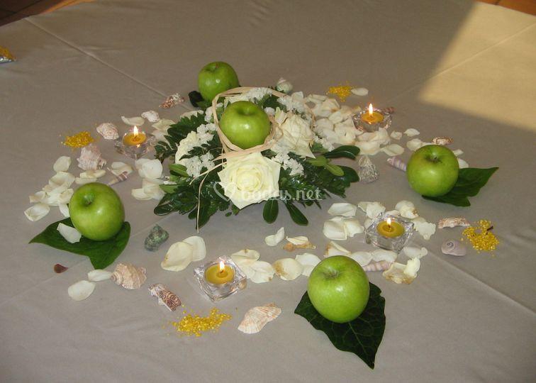 Decoración Mesas Ceremonia