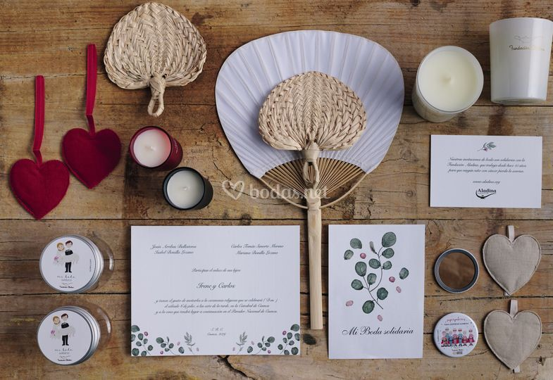 Invitaciones de boda y regalos