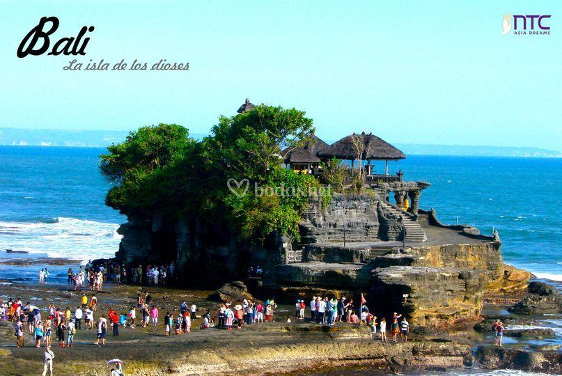 Bali. La isla de los dioses.