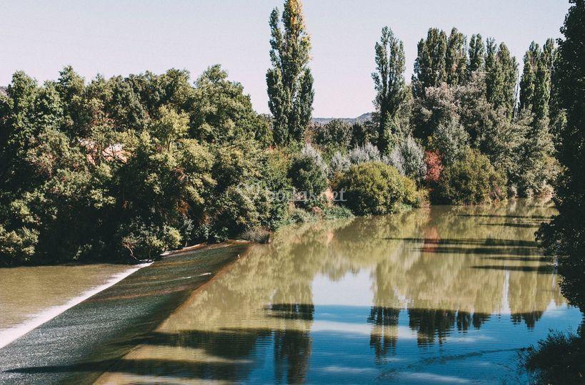 A orillas del río Duero