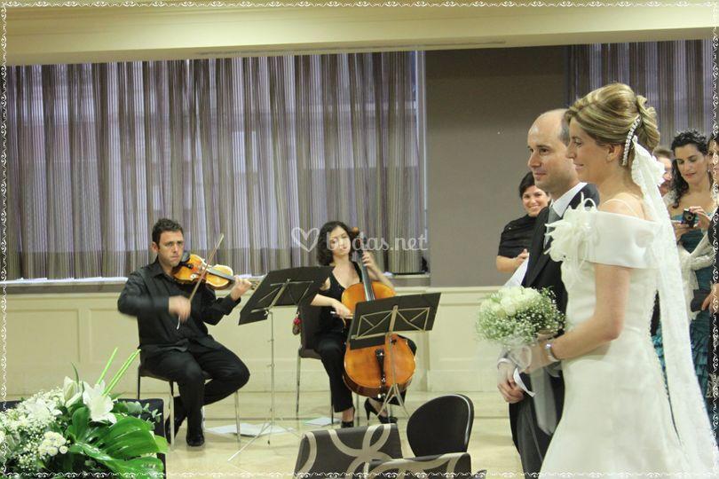 Ceremonia en Hotel Astoria