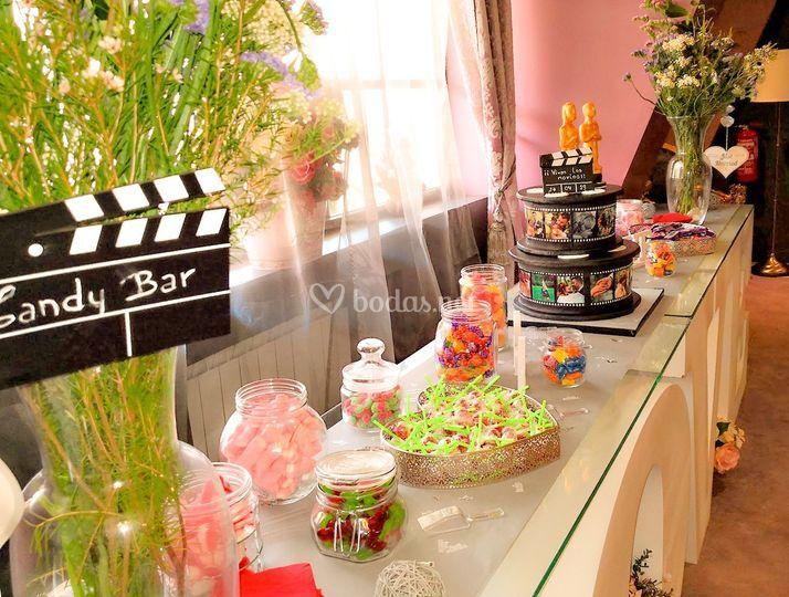 Candy Bar de Película