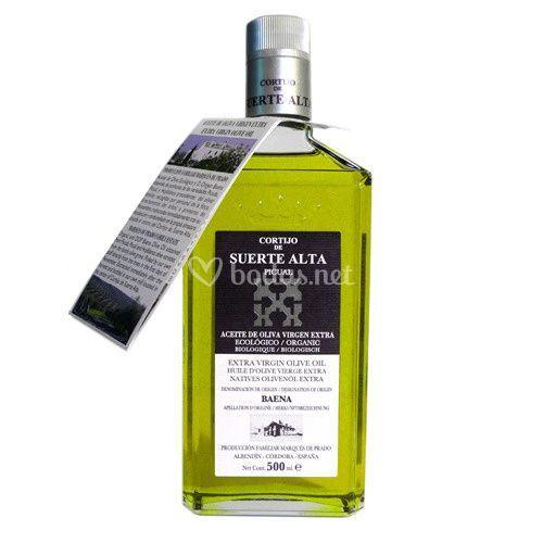 Botella individual aceite de oliva virgen