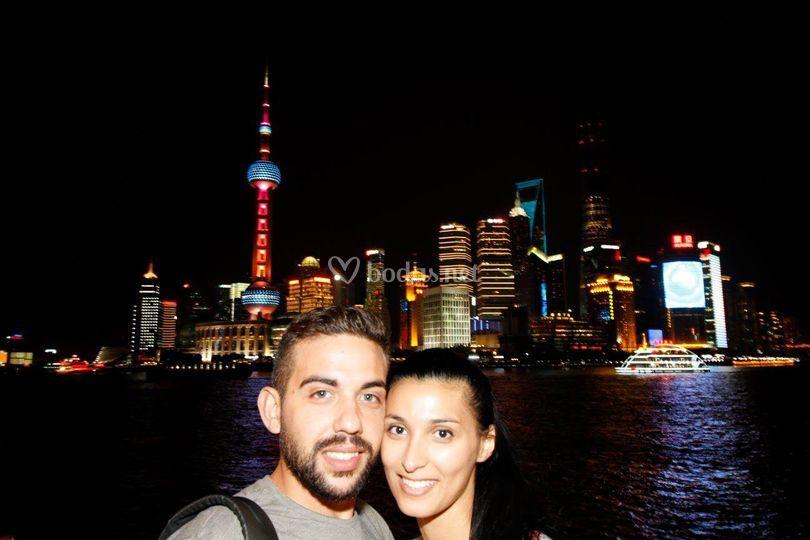 Viaje de novios a China