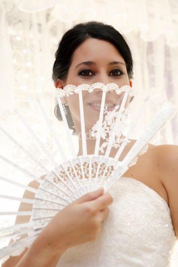 Abanicos especiales para boda