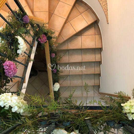 Barandas florales