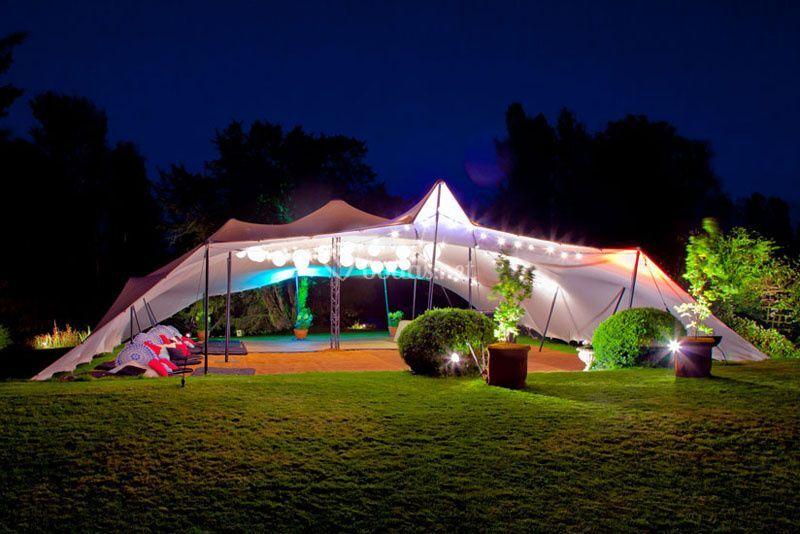 Carpa tensada beduina 150 de Global Eventos