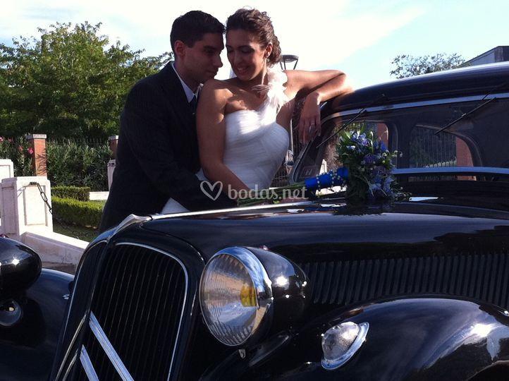 Mi boda en Traction Avant