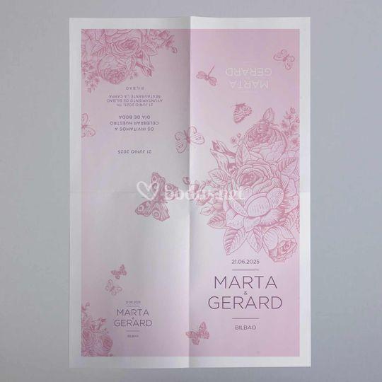 Invitaciones de boda poster