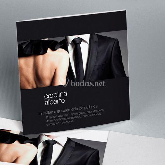 Invitación de boda romántica 4