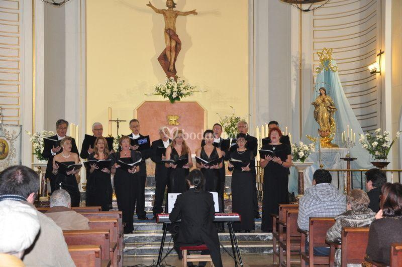 Conciertos en iglesias